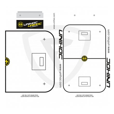 Unihoc Tactic Board 24x40 cm s fixem