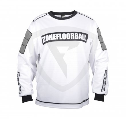Zone Monster Goalie Sweater White-Black SR
