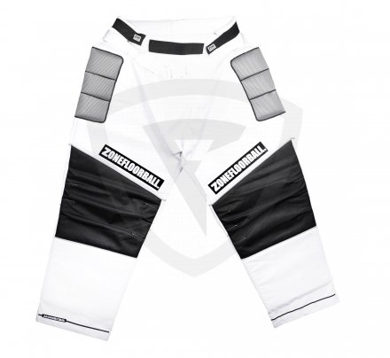 Zone Monster Goalie Pants White-Black SR