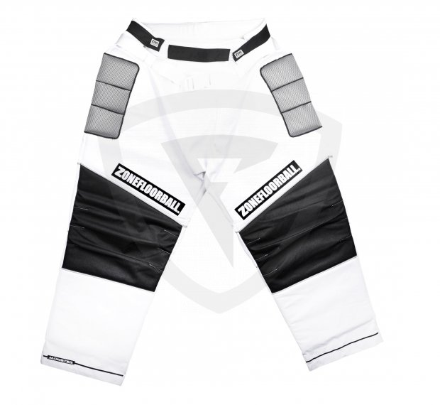 Zone Monster Goalie Pants White-Black SR 42260 Goalie PANTS MONSTER