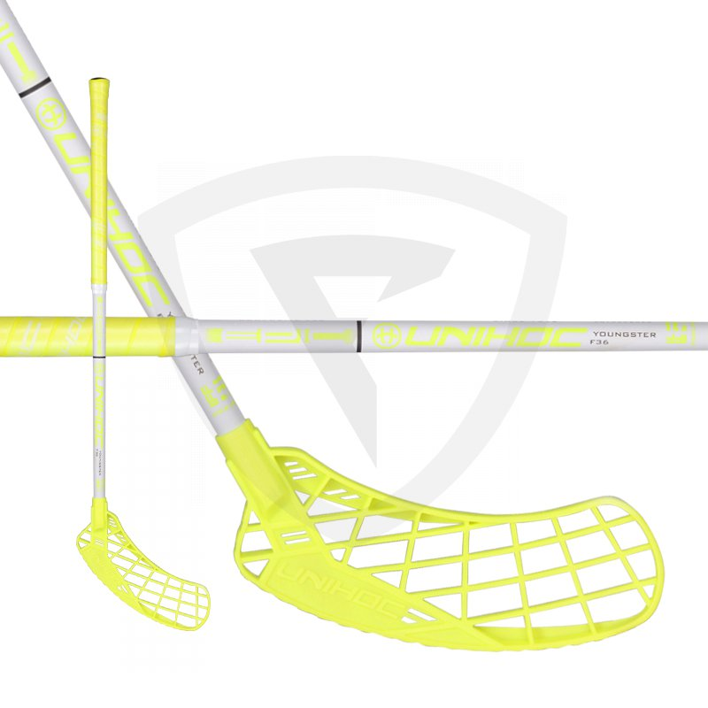 875c8220e Unihoc Epic Youngster 36 Neon Yellow 18/19 - Florbal.com