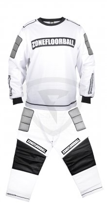 Zone Monster Goalie White-Black Goalie Set