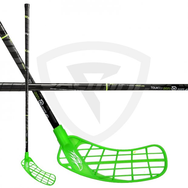 Salming Hawk TourLite Aero 27 Green SMU Salming Hawk TourLite Aero 27 Green SMU