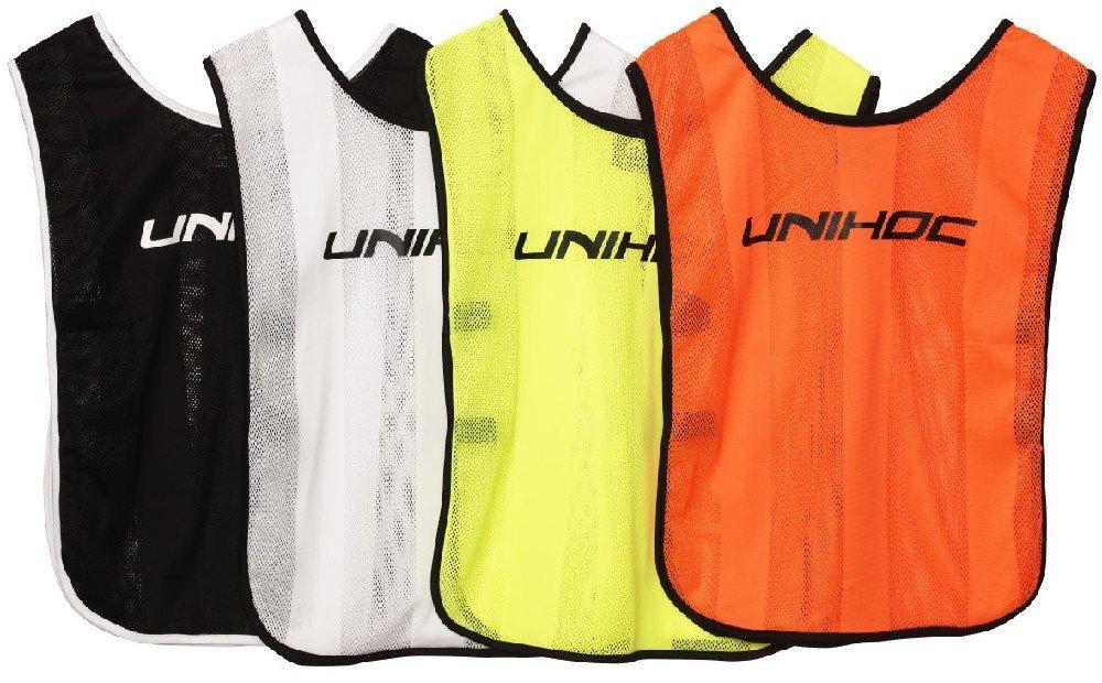 Unihoc rozlišovací dres Stripe junior bílá