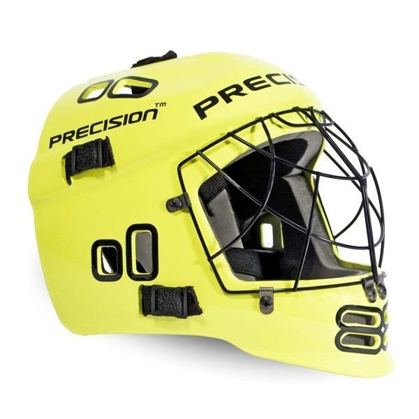 Precision brankářská maska Neon Yellow Junior žlutá