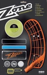 Zone Supreme set čepele s doplňky levá oranžová středně tvrdá