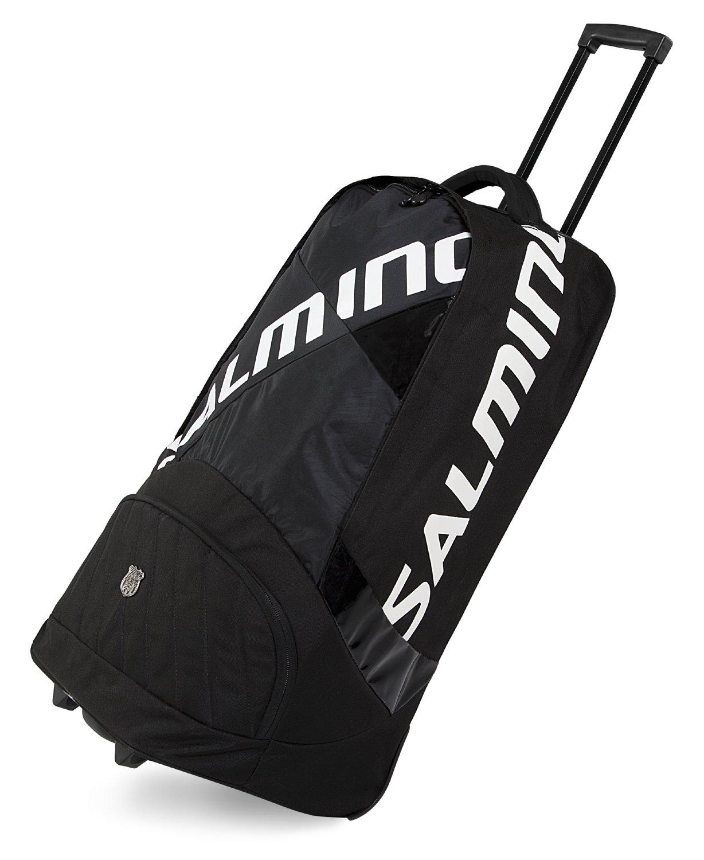 Salming Trolley Pro Tour taška s kolečky černá-bílá