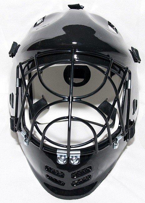 MPS Penguin Black brankářská maska černá