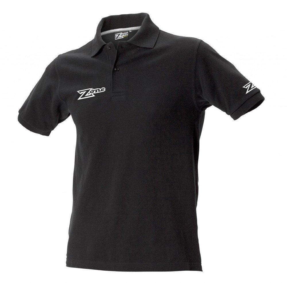 Zone Danny triko s límečkem S černá