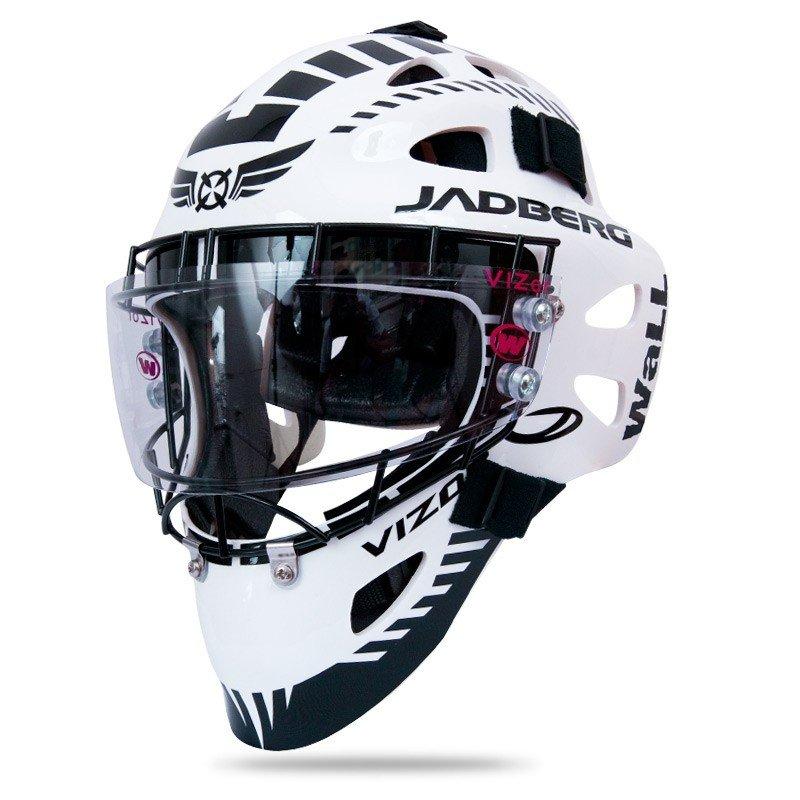 Jadberg Vizor 2 brankářská maska bílá-černá