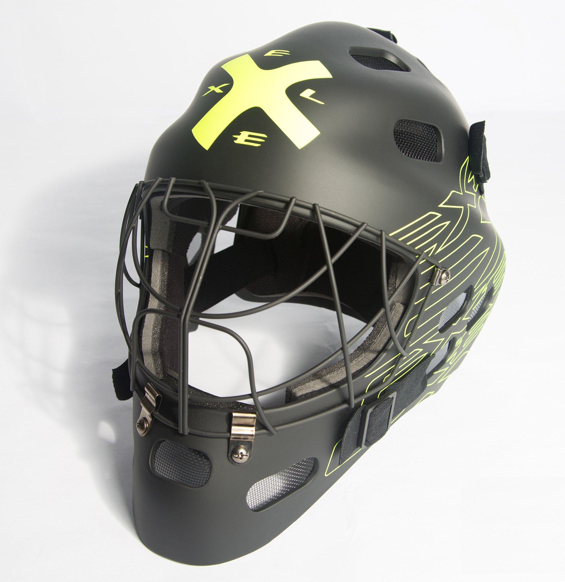 Exel G1 Helmet SR brankářská maska černá