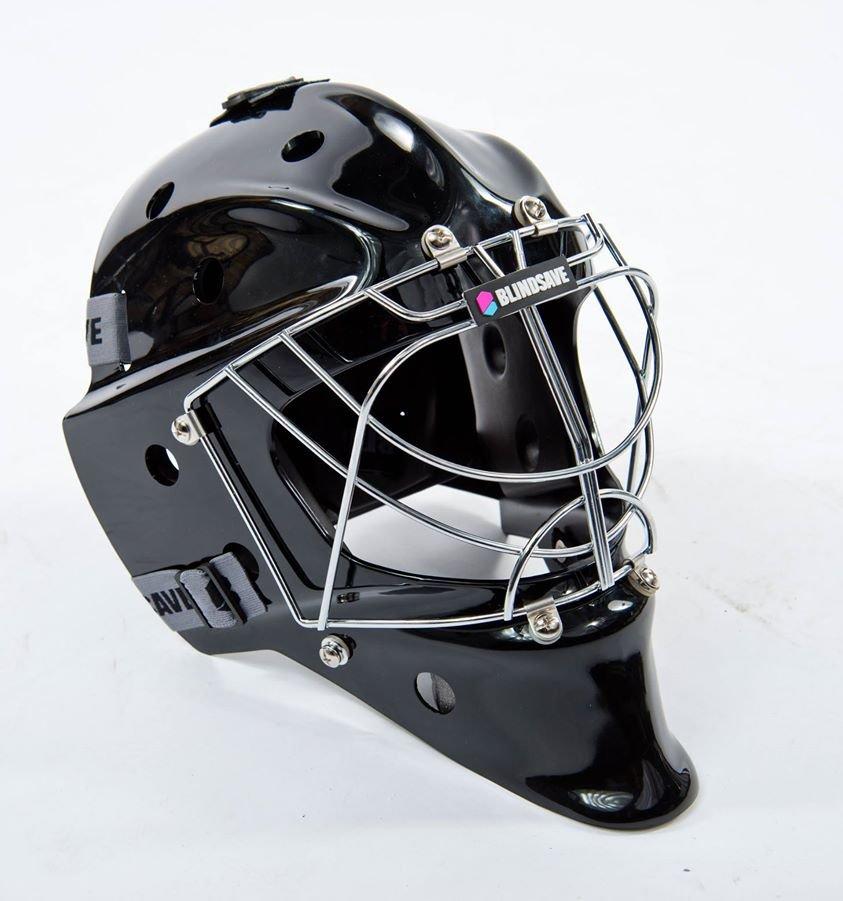 BlindSave Black brankářská maska černá