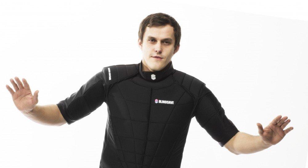 BlindSave Rebound brankářská vesta model 2014 S
