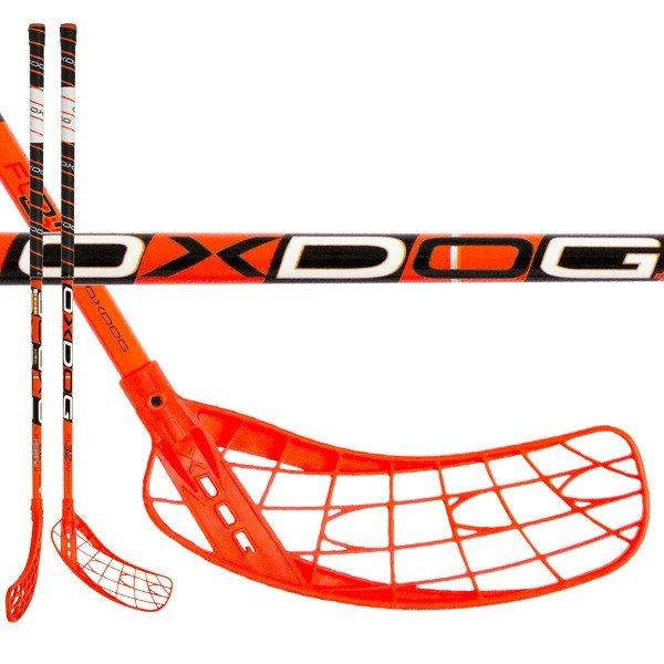 Oxdog Fusion 32 Neon Orange 96cm (=107cm) pravá kulatá (pravá ruka dole)