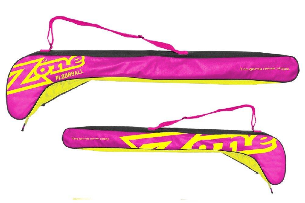 Zone MEGA Senior Pink Yellow vak na hokejky růžová-žlutá