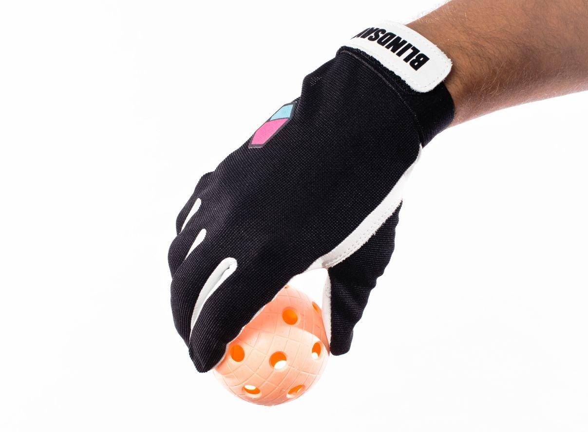 Blindsave brankářské rukavice Black S