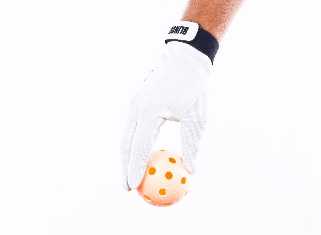 Blindsave brankářské rukavice White L
