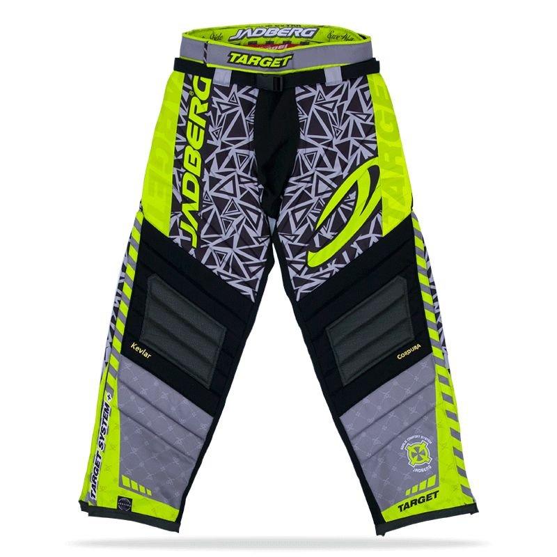 Jadberg Target Grey brankářské kalhoty L šedá-černá-zelená