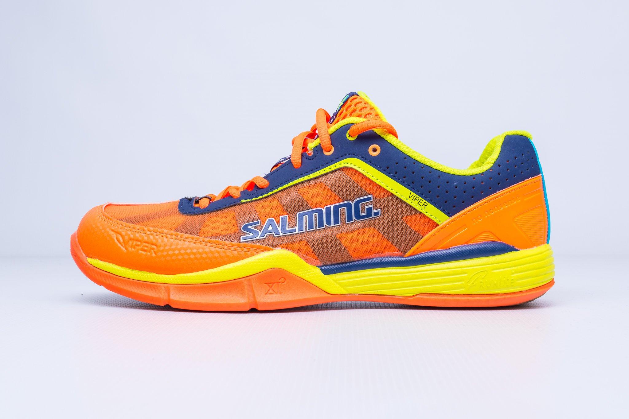 Salming Viper 3.0 Men Shocking Orange UK 11 / US 12 / Euro 46,5 / CM 29,5