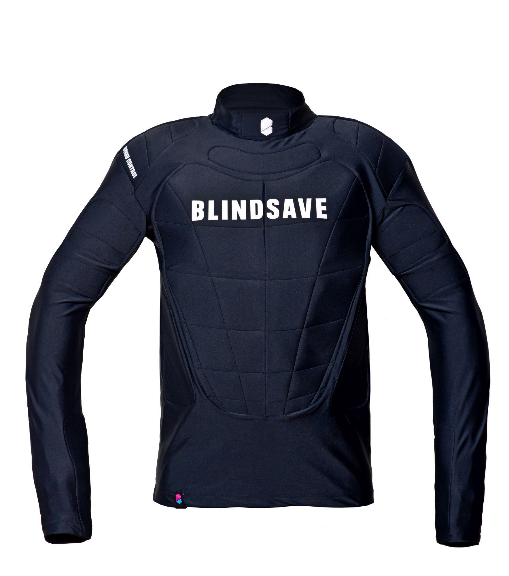 BlindSave LS Rebound brankářská vesta 16/17 L černá