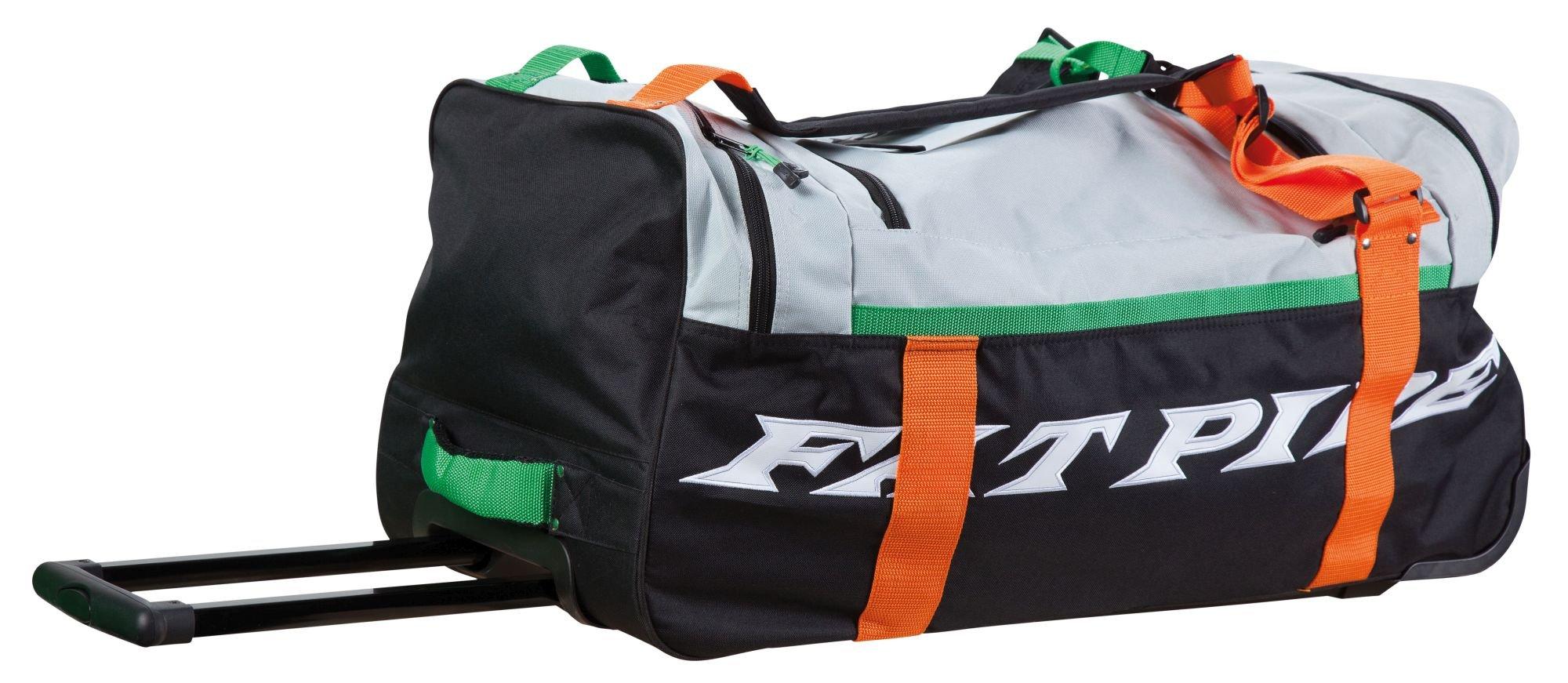 Fatpipe Radar - Big Trolley taška s kolečky 16/17 černá-šedá-oranžová-zelená