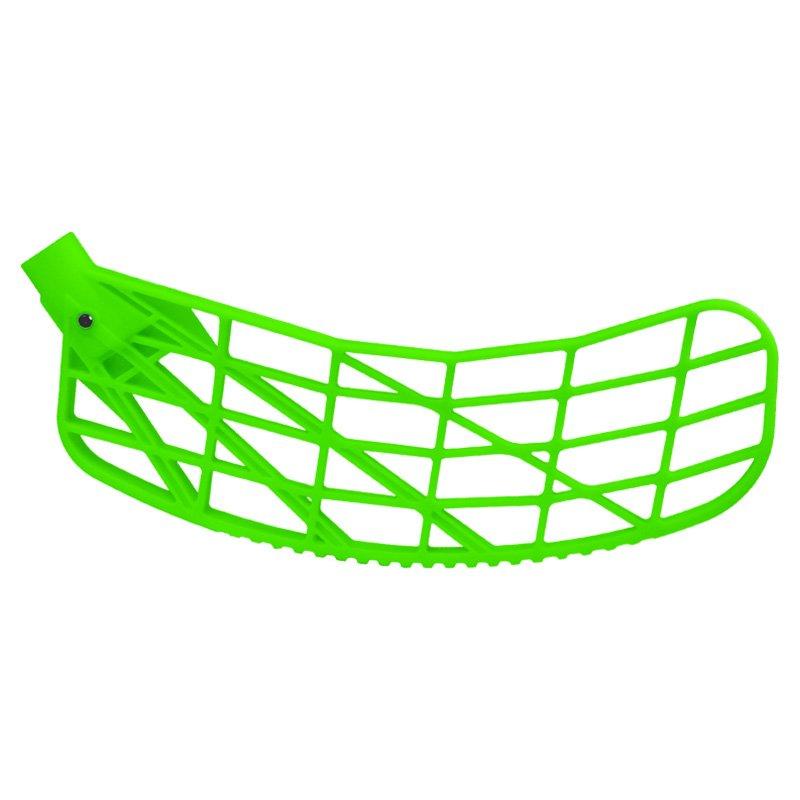 Čepel Exel Vision pravá měkká neon zelená