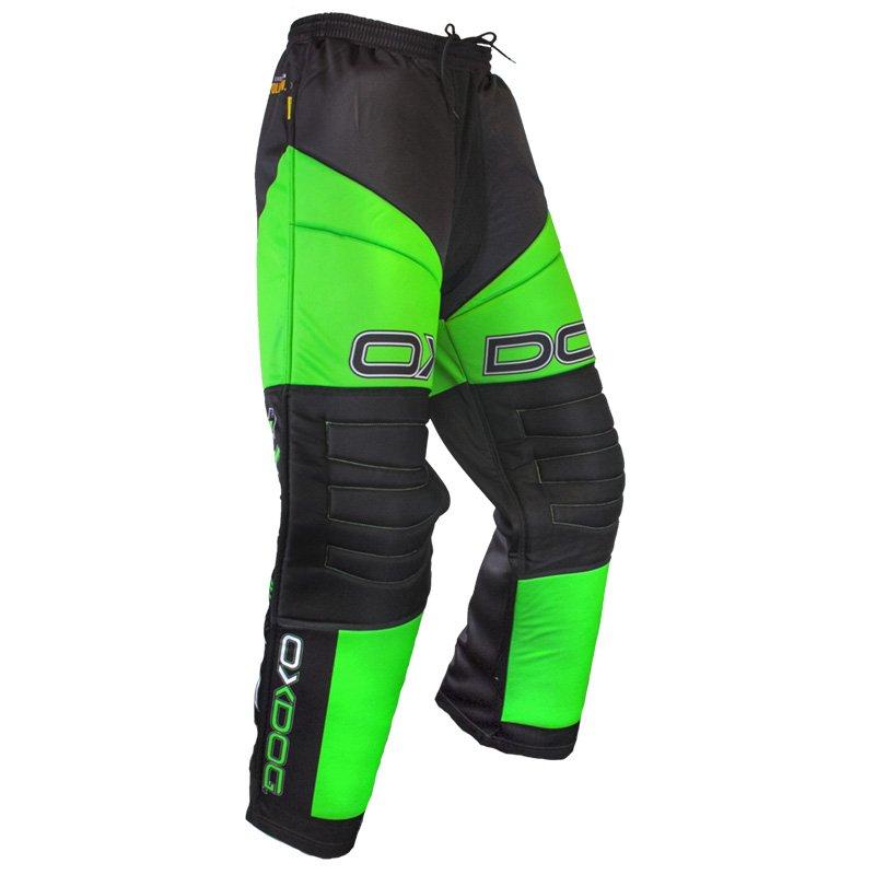 Oxdog Vapor Junior Green/Black brankářské kalhoty 110/120 zelená-černá