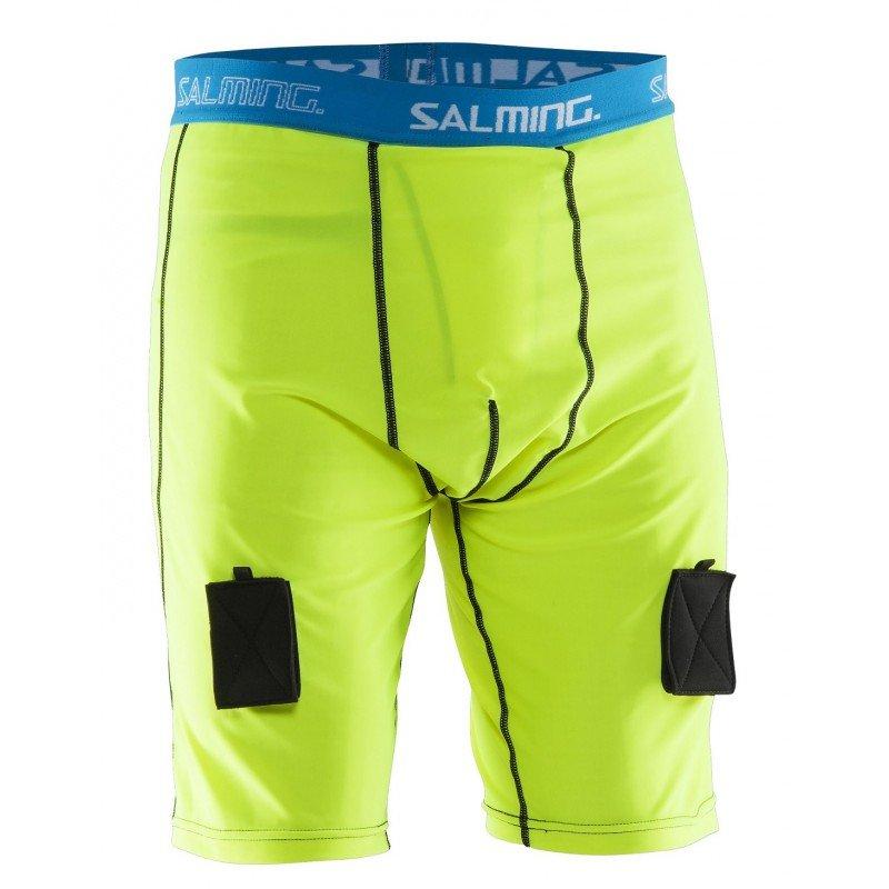 Salming Comp Jock Short Pant M neon žlutá