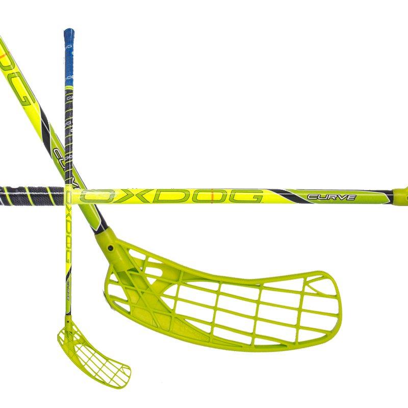 Oxdog Curve 3.0 Yellow/Green 14/15 96cm (=107cm) levá kulatá (levá ruka dole)