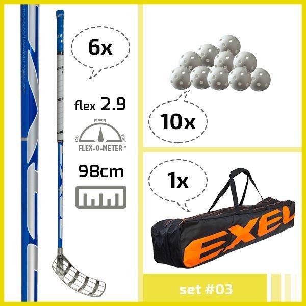 Exel florbalový set 03
