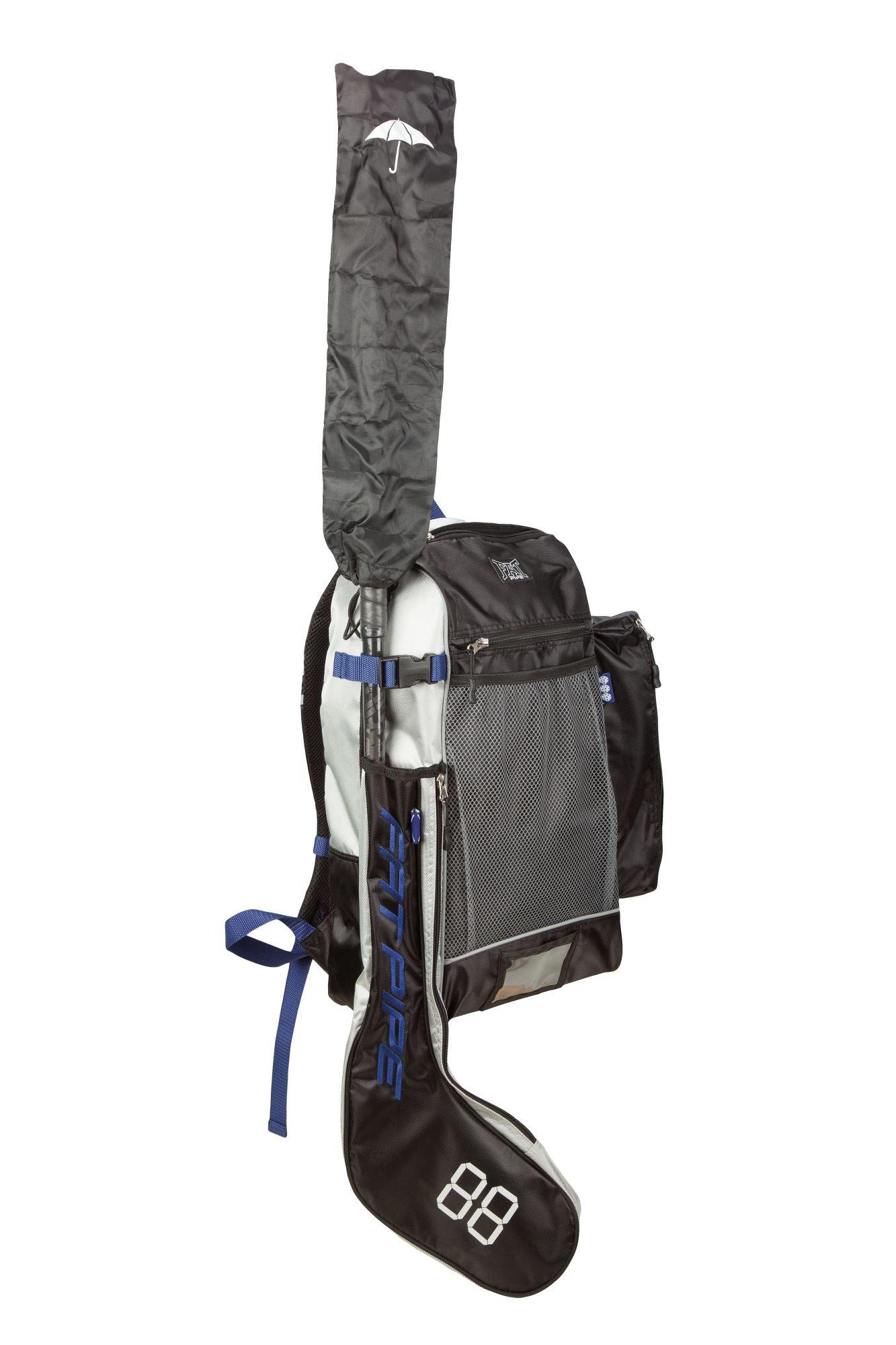 Fatpipe Classic Stick Back Pack 17/18 černá-modrá-šedá