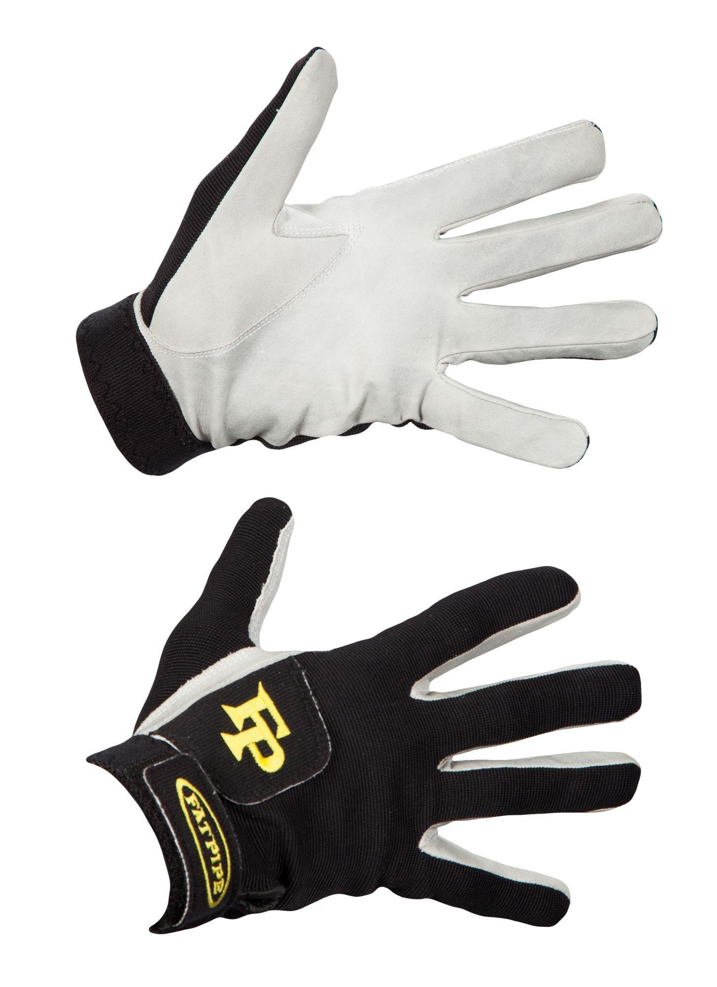 Fatpipe GK Gloves With Leather 17/18 S černá-žlutá